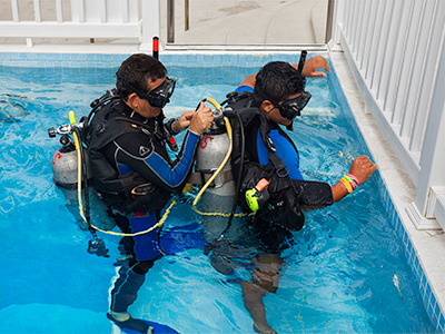 Diving Lessons