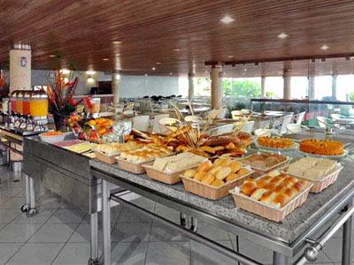 Restaurante com Terraço - Bufê
