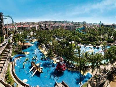 Panoramic View Oceani Beach Park Hotel Aquiraz Ceara