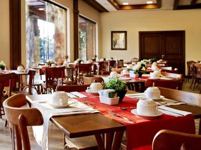 Área de Café da Manhã - Vista Alternativa