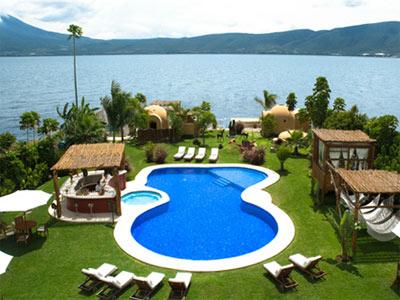 El chante spa hotel hotel en jocotepec jalisco for Hoteles con piscina en guadalajara