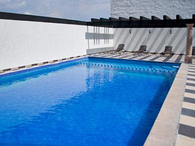 Fotograf as del hotel hotel morales historical and for Hoteles con piscina en guadalajara