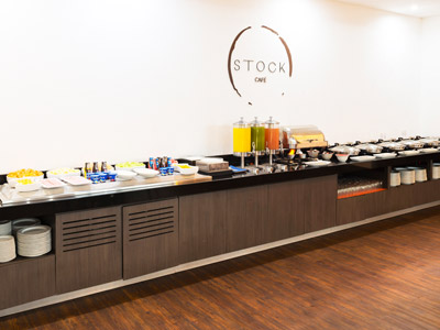 Restaurante Stock Café - Buffet