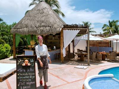 Blue Lounge Pool Bar