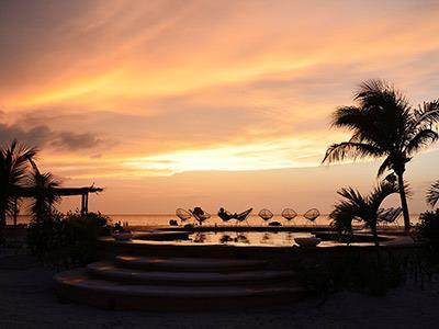 Pool - Sunset