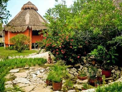 Búngalo con Vista al Jardín - Exterior