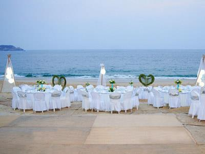 Wedding in Beach Club