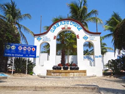 Beach Club - Entrance