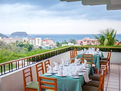 Restaurante Trattoria El Mirador - Terraza