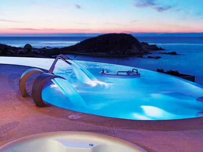 Spa - Jacuzzi - Night View