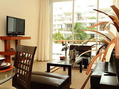 Suite Vista al Jardín de Dos Habitaciones