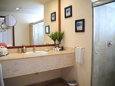Baño de las Suites de Una y Dos Recámaras