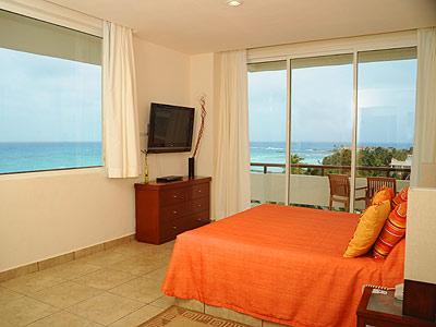 Suite de Una Habitación Vista Parcial al Mar