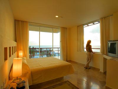 Suite Dos Habitaciones Vista Parcial al Mar