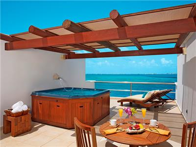 Suite Presidencial King Frente al Mar