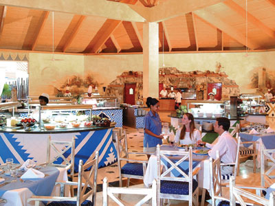 Restaurante Las Dunas Sol Cayo Largo All Inclusive