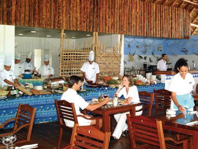 Restaurante Ranchón Lindarena Sol Cayo Largo All Inclusive