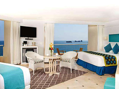 Sun Club Honeymoon Suite Frente al Mar,