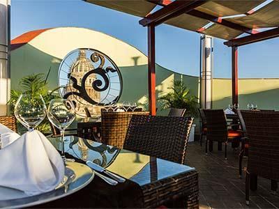Restaurante Bar Mirador Hotel Saratoga