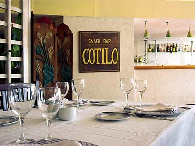 Bar El Cotilo Meliá Cohiba