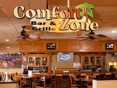 Comfort Zone Bar and Grille Clarion Inn Lake Buena Vista