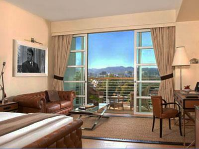 Deluxe King con Vista a Beverly Hills