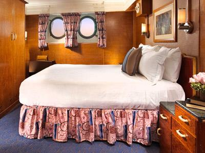 Family Stateroom Camas King y Twin