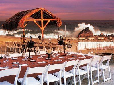 Banquet at the beach