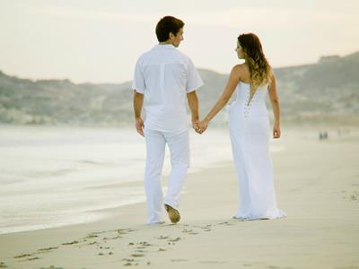 Wedding on the Beach - Couple