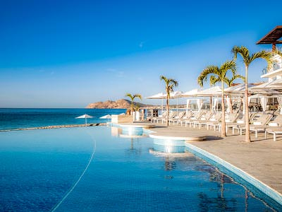 Bar Beach Club Le Blanc Spa Resort Los Cabos