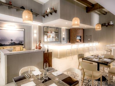Restaurante Blanc Pizza Le Blanc Spa Resort Los Cabos