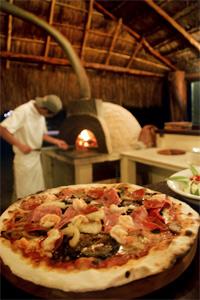 Horno de Madera para Pizza