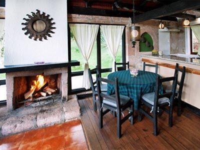 Cabaña Mediana - Cocina