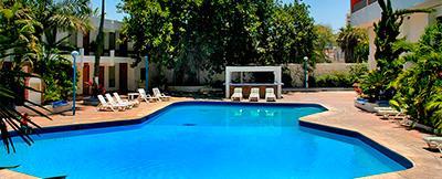 Hotel de cima hotel en mazatl n malec n sinaloa for Isla leon piscina