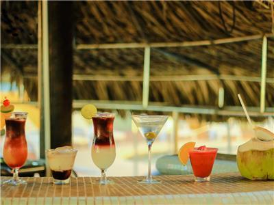 Bar de Piscina - Bebidas