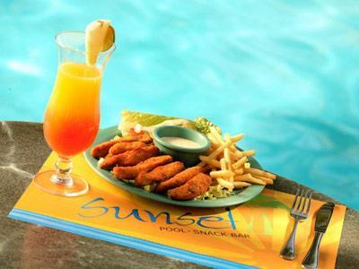 Sunset Pool-Snack Bar