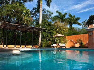 Hacienda xcanat n habitaciones desde 7 789 hotel en for Piscina zona norte avila