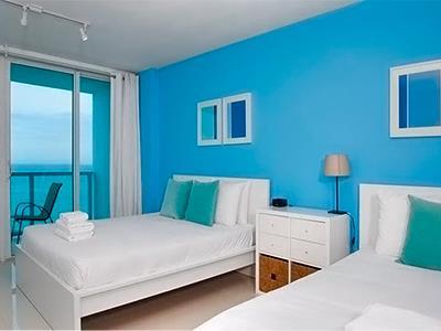 Suite con Vista al Mar y Balcón