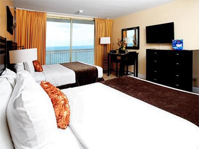 Two Queen Beds Non-Smoking Oceanfront View