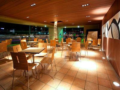 Restaurante La Mandarina - Terraza