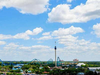 Vista a SeaWorld