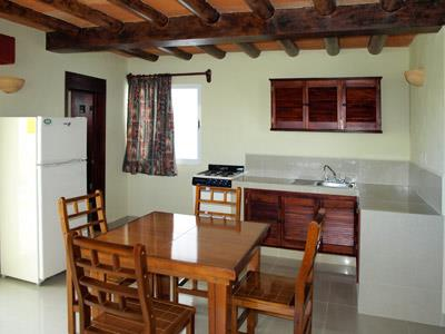 Suite con Terraza Privada - Cocina