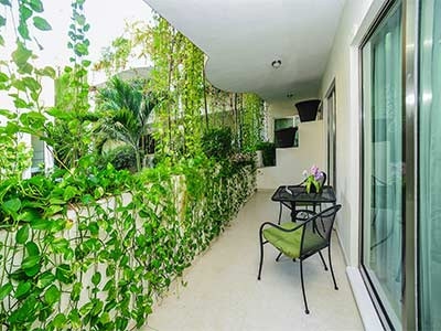 Penthouse Premium de Dos Recámaras - Balcón