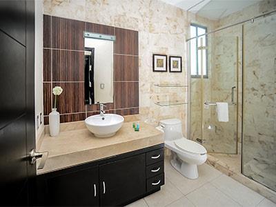 Penthouse Premium de Dos Recámaras - Baño