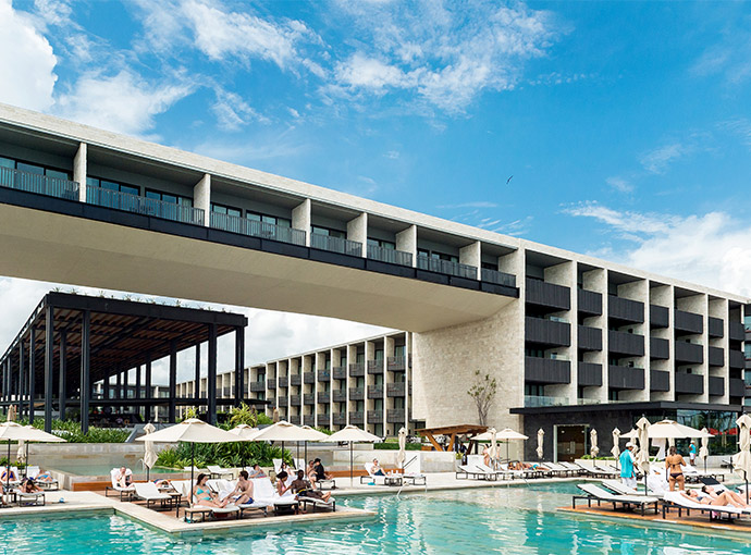 aPlaya-del-Carmen-Hyatt-Piscina Grand Hyatt Playa del Carmen Resort
