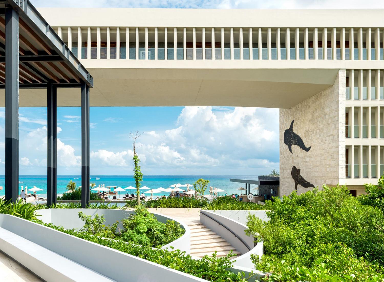 fachada Grand Hyatt Playa del Carmen Resort