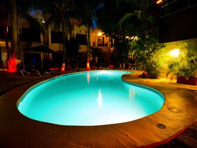 Pool - Nighttime View