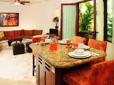 One Bedroom Suite - Dining Room