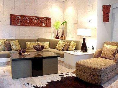 Three Bedrooms - Living Room