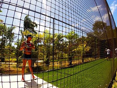 Baseball Practice Area